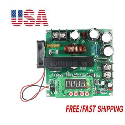 900W DC-DC Boost Converter 8-60V To 10-120V 15A Step Up Power Supply Module US
