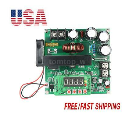 900W DC-DC Boost Converter 8-60V to 10-120V 15A Step Up Power Supply Module X0B7