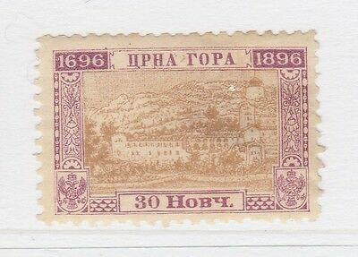A2P38 MONTENEGRO 1896 30n MH*