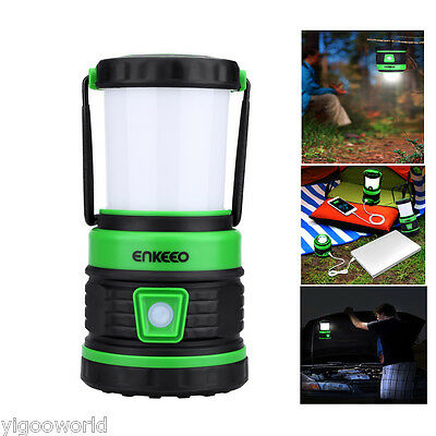 Bright LED Hanging Camping Tent Light Lantern Hiking Lamp Torch USB Rechargeable