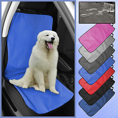 2 in 1 Car Front Rear Back Seat Cover Waterproof Pet Dog Protector Boot Liner