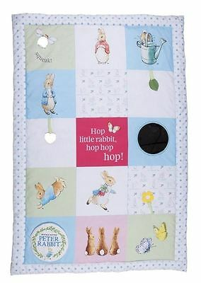 Beatrix Potter Peter Rabbit Tummy Time Baby Activity Mat Playgym