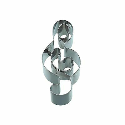 KitchenCraft 12cm Treble Clef Shaped Cookie Cutter