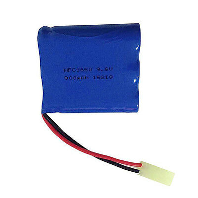 9.6V 800mah RC Li-po Rechargeable Battery Replacement for GPTOYS S911 S912 RC Ca