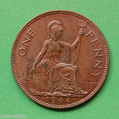 1944 - George VI - Penny - Mint toned - SNo41912