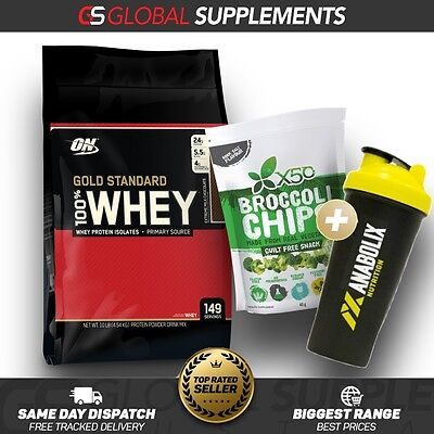Optimum Nutrition 100% Gold Standard Whey Protein 4.5Kg / 10Lbs