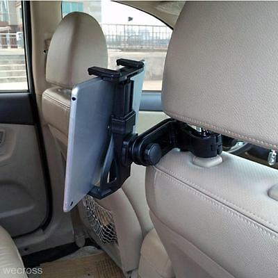 Universal Car Seat Headrest Stand Mount Holder for iPad 2 3 4 Mini Tablet Black