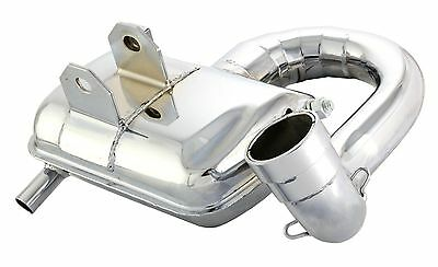 Vespa Px 125 Sip Road 2 Sport  Chrome Exhaust P125E Px125 Efl Disc &150