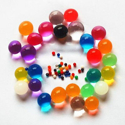 Hot 1000 Pcs Water Bullet Balls 2.5mm-3mm Water Gel Beads for home decoration