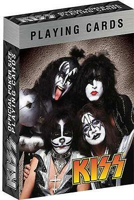 Kiss - Set Of Poker Size Playing Cards - New & Official Sealed In Pack