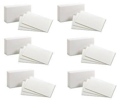 "Oxford  Index Cards Unruled 3 x 5"" 100 Cards Ideal for Presentations"