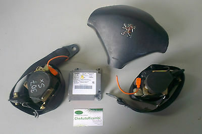 Kit Airbag Peugeot 307 2001-2009 Con Centralina