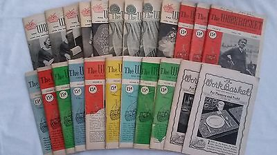Vintage Workbasket Magazine 1950's 23 Issues Great Advertising Needlecrafts