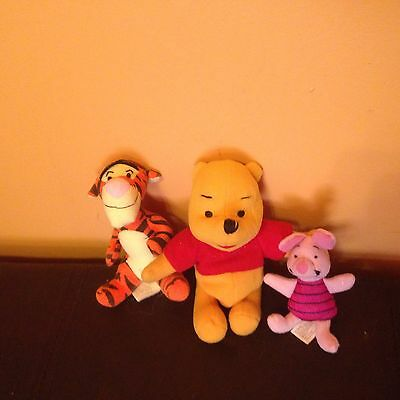 Small Winnie The Pooh Plushes