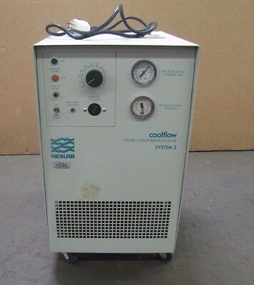 Used Neslab Cool Flow Liquid/liquid Recirculator Coolflow 322003040105