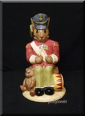 ROYAL DOULTON Toy Soldier Bunnykins D7185 - 2002 Limited Edition - 4th in Series