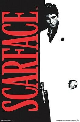 SCARFACE ~ CLASSIC 24x36 MOVIE POSTER Al Pacino Tony Montana NEW/ROLLED!