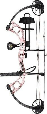 New 2016 Bear Archery Cruzer RTH 5-70# Right Hand AP Pink Camo Bow Package