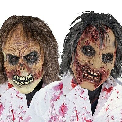 Zombie Mask Costume Accessory Adult Halloween Fancy Dress