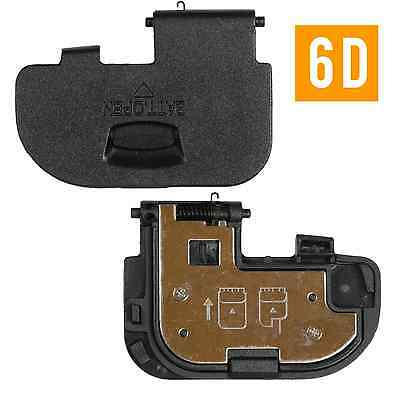 Battery Door Replacement Lid Cover For Canon EOS 6D Camera - Black
