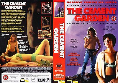 The Cement Garden, Andrew Robertson Video Promo Sample Sleeve/Cover #14633