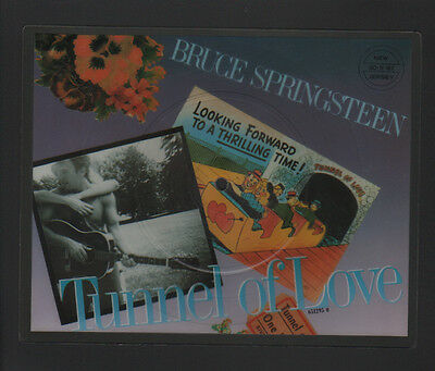 "7"" Shaped Pdk Picture Disc Bruce Springsteen Tunnel Of Love / Two For The Road"