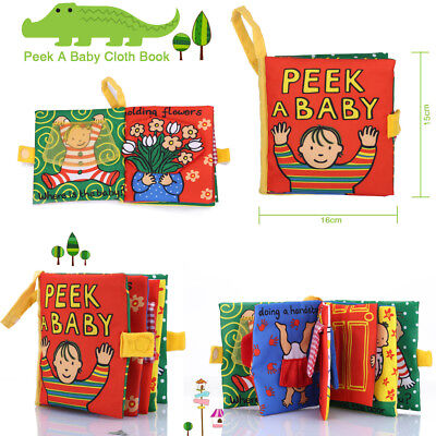Soft Cognize Cloth Book 3pcs Jollybaby Educational Development Baby Toy Book