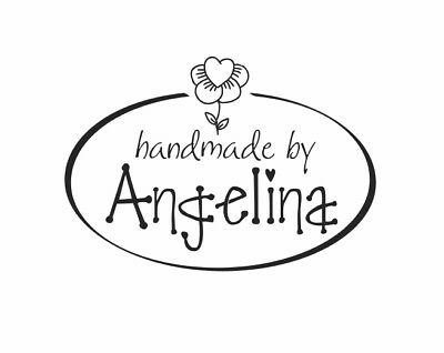 UNMOUNTED PERSONALIZED HANDMADE BY CUSTOM RUBBER STAMPS H06