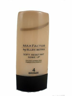 Max Factor By Ellen Betrix soft resistant makeup foundation 35ml 4 Bronze