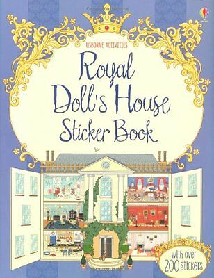 Royal Doll's House Sticker Book (Doll's House Sticker Books),New Condition