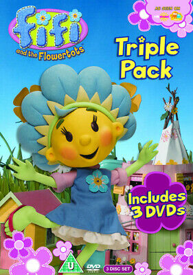 Fifi and the Flowertots: Triple Pack Collection DVD (2010) ***NEW***