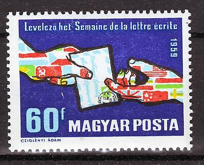HUNGARY - 1959. International Correspondence Week - MNH