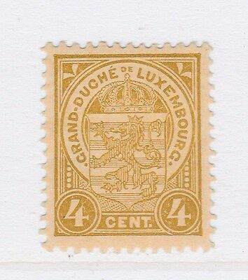 A2P38 LUXEMBOURG 1906-26 4c MH*