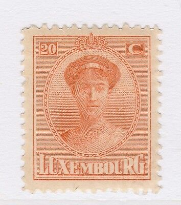 A2P38 LUXEMBOURG 1921-26 20c MH*