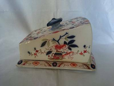 Burleigh Ware Japonica Staffordshire Cheese Dish with Cover a/f