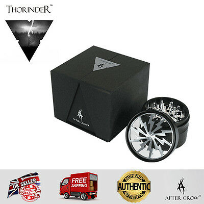 Thorinder Premium Magnetic Grinder by After Grow 62mm SILVER - 100% Genuine