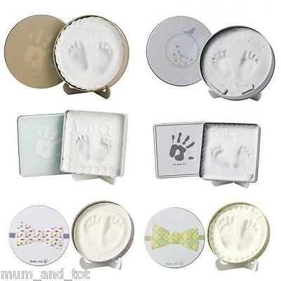 Baby Art Magic Box Cast Hand Foot Clay Print Imprint Keepsake Casting Gift