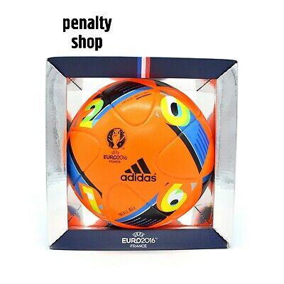 Adidas Beau Jeu Euro16 UEFA Euro 2016 Winter Official Match Ball OMB AC5451  SALE 7c629f2561666