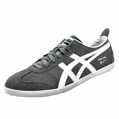 factory price 7be85 94aba ONITSUKA TIGER MEXICO 66 Vulc Uni Casual Classic Suede Leather Trainers Grey