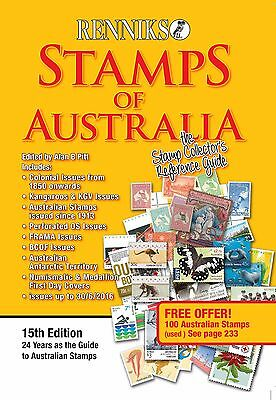 NEW Renniks Stamps of Australia 15th Edition 2016