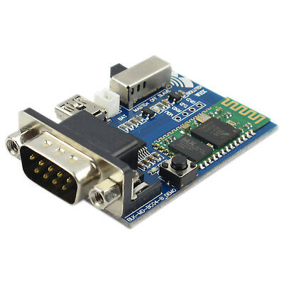 NEW RS232 Bluetooth Serial Adapter Communication Master Slave Module