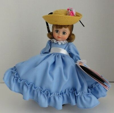 "1987 Madame Alexander 7"" Betty Blue Doll             (Inv11621)"