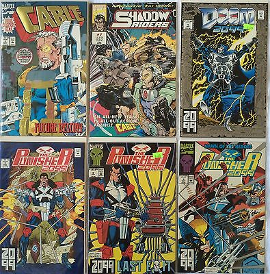 Lot of 52 Comic Books, Marvel, DC - Wolverine, The Punisher, Spider Man and more