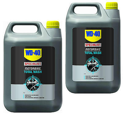wd 40 motorbike scooter motorcycle quad biodegradable total wash cleaner 10 ltrs