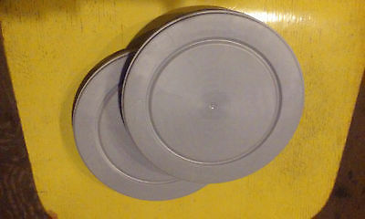 Two 16mm  400ft Plastic Film Cans