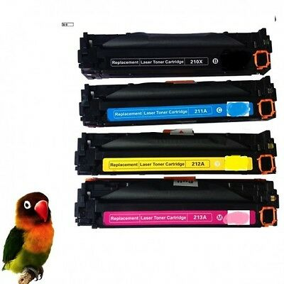 HP CF210X/1/2/3A PACK 4 toner compatibles HP Laserjet COLOR Pro 200 M251 M276