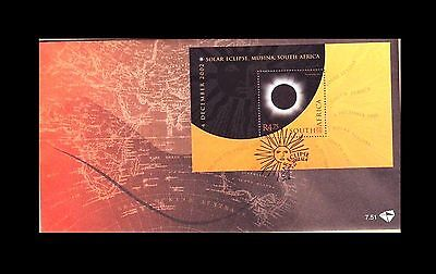 South Africa 2002 Total Solar Eclipse, 4 December 2002 FDC