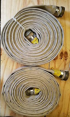 """2"""" X 50' Lay Flat White Goodall Discharge Hose Assembly 250 Psi"""