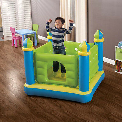 Kids Trampoline Inflatable Bouncer Indoor Outdoor Toy Fun Play Ball Pit Combo
