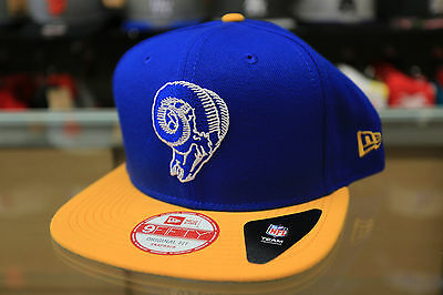 New Los Angeles Rams Era Royal Sideline Classic 9FIFTY Snapback